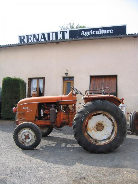 tracteur renault super 7. Black Bedroom Furniture Sets. Home Design Ideas