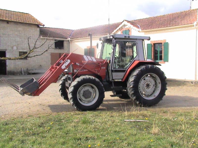 Tracteur massey ferguson 3070 - Tracteur avec fourche ...